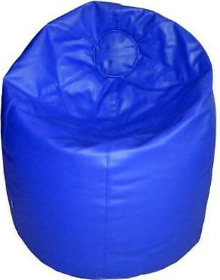 Relaxer Bean Bags Blue Plain Leatherite Extra Large Bean Bag - XLRT 06 A