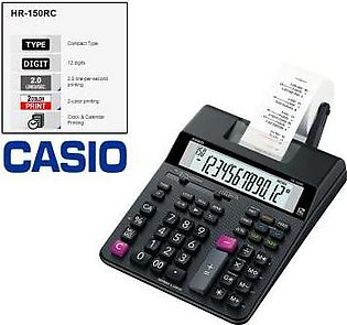 CASIO Casio Original HR-150 RC Print Printing Calculator