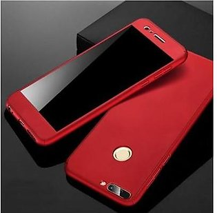 Bee Store Huawei P10 Lite 360 Front and Back Cover - Red