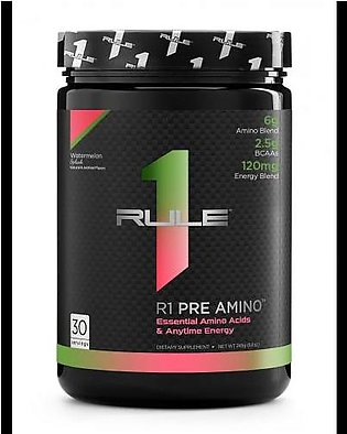 Rule 1 Protein R1 Pre Amino - Watermelon Splash 30 Servings Intra Workout