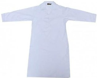 Liberty Uniforms Habib Girls School Uniform White Plain Kameez Medium Sleeves