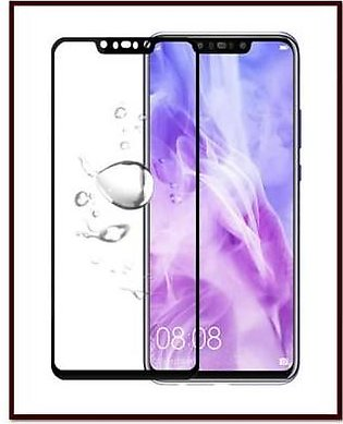 MISC Mobiles Huawei Nova 3 3D Tempered Glass Screen Protector Full Cover-Black