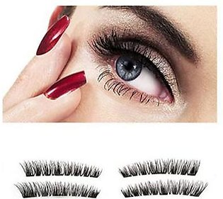 Fashion Zeee 3D Triple Magnetic Natural Soft Eyelashes Extension Reuseable