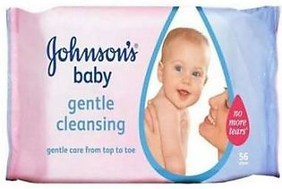 JOHNSONS Baby Wipes Gentle Cleansing Wipes