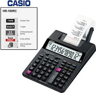 CASIO Casio Original HR-100 RC Print Printing Calculator