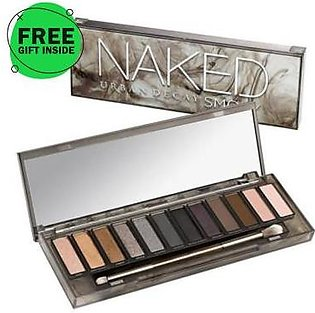 Dukaan4all Flagship Store URBAN DECAY NAKED SMOKY Eyeshadow Palette free gift