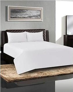 Khas stores Bed Sheet Opal – White