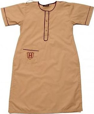 Liberty Uniforms Habib Girls School Uniform Fawn Kameez Half Sleeves