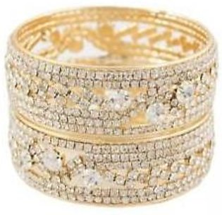Onlinejewellery FANCY STONE BANGLES 2 PIECE FOR WOMEN