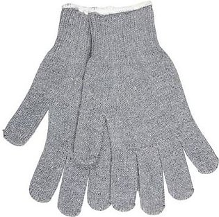 Mehdi Traders Grey Cotton Hand Gloves for Bikers