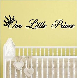 Scenic Accessories PVC Kids Removable Our Little Prince Wall Stickers Art Vin...