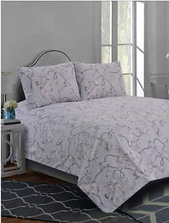 Khas stores Bed Sheet Queen-KHASSTORES1000000026445