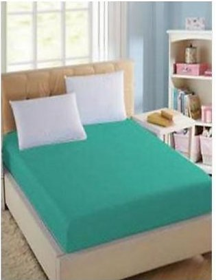 BaggyBeans Baggy Beans Fitted Sheets -Stretch Jersey Fitted Sheet - Sea Green