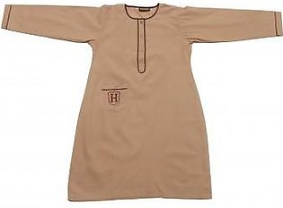 Liberty Uniforms Habib Girls School Uniform Fawn Frock Full Sleeves