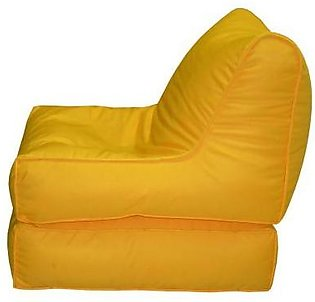 Relaxer Bean Bags Yellow Sofa Cum Bed Bean Bag - SCBP 01 A