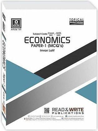 Read & Write Publications Economics O-Level MCQ'S P-1 Topical Worked Solutions