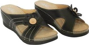 Metro Metro Shoes and Bags Stylish Slippers For Women SD-9258 Black