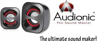 PQWH Audionic Speakers Fine Condition
