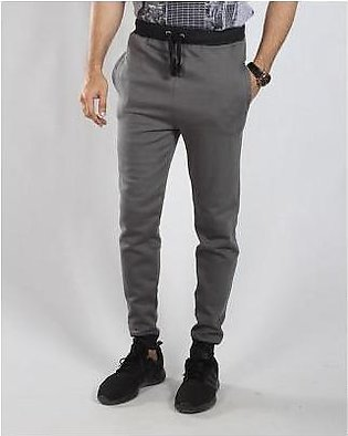 Red Tree Grey Casual Bottoms-RT6019