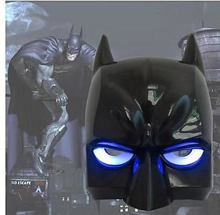 Rubian Super Hero Batman Toy Mask Led light Full Face Mask For Kids