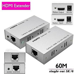 WOG HDMI Range extender by dual cat 5e/6 cable to 60m support HDCP