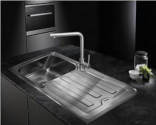 STEELINE Cristal 86x50 1V Stainless Steel Kitchen Sink (Made In Italy)