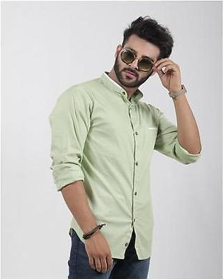 Red Tree Green Shirt with White piping - RT3015
