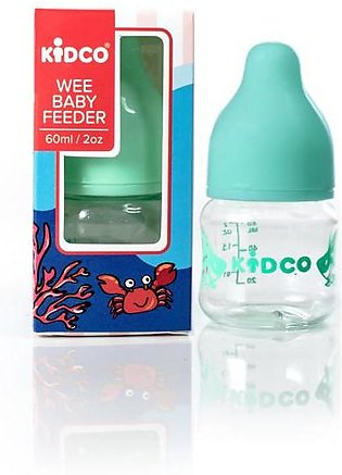 Rubian Baby Feeder Wee Mini 2oz/60ml (Color & Design May Vary)