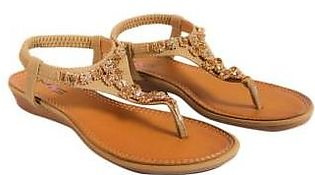 Metro Metro Shoes and Bags Stylish Flat Sandals For Women SD-X83012 Beige