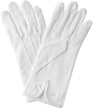 Mehdi Traders White Cotton Hand Gloves for Bikers