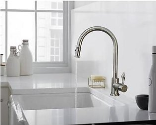 STEELINE 7793-SS Kitchen Faucet With Pull-out Shower (Made In Italy)