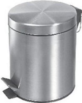 Other Zilver Dustbin 3 Liter With Cover