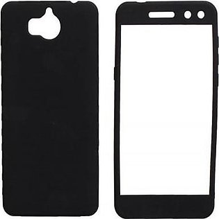Bee Store Huawei Honor 9 Lite 360 Case with Glass Protector - Black