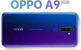 OPPO A9 2020 - 6.5 Inches - 8GB  Ram +  128GB  Rom - Space Purple