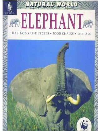 BOOK Centres- 1952 Elephant,Natrual World-Habitats-Life Cycle-Food Chains-Thr...