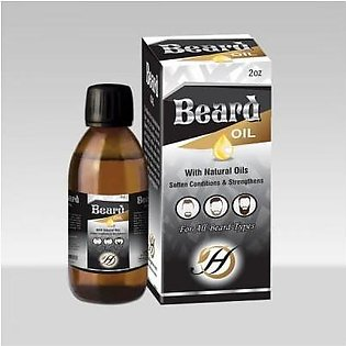 Herbal Beard Oil (with Natural Oils)