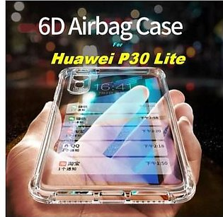 MISC Mobiles Correctfit Airbag for P30 lite Anti Shock Resistant Clear View Tra…