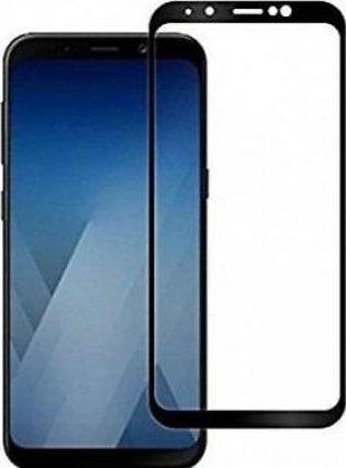 MISC Mobiles Samsung Galaxy J6 Plus 3D Tempered Glass Screen Protector-Black