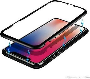 butt shop Magnetic Case for Iphone X Magnet Adsorption Flip Cover