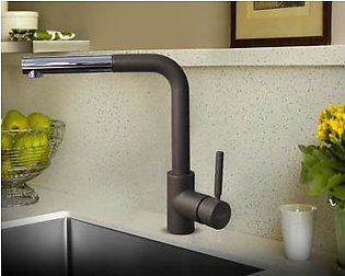 STEELINE 7740-GR Espresso 78 (H) Kitchen Faucet With Hand Shower (Made In Italy)
