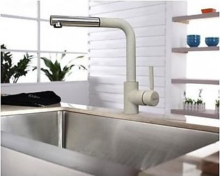 STEELINE 7740-GR Terra 53 (I) Kitchen Faucet With Hand Shower (Made In Italy)
