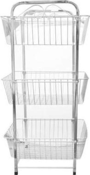 Hommold Stainless Steel 3 Tiered Rectangular Kitchen Rack