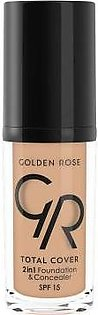 Golden Rose total cover 2in1 foundation concealer