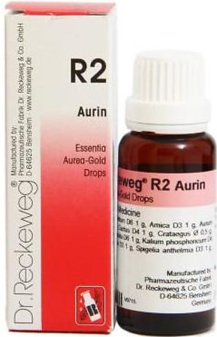 Dr Reckeweg & Co. Germany Essential Aurin Gold Drops - R-2 - 22ml