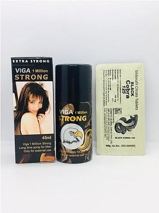 20 Herbal Best Viga strong  delay spray Best for men timing with free timing ta…
