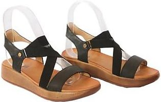 Metro Metro Shoes and Bags Flat Sandals For Women SD-681967 Black