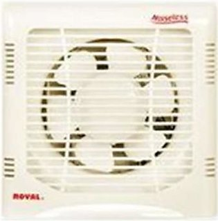 Royal Fans Exhaust Fan-Plastic Body 10'' Fitting-Off White