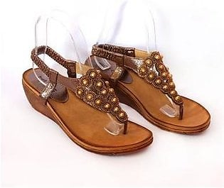 Metro Metro Shoes and Bags Stylish Sandals For Women SD-11825 Copper