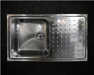 STEELINE Punto Plus 86x50 1V Stainless Steel Kitchen Sink (Made In Italy)