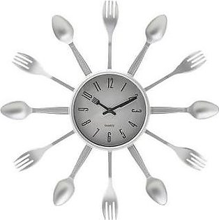 Imshopping Kitchen Wall Clock - Fork Spoon Wall Clock